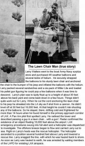 LawnChair-Larry News Item