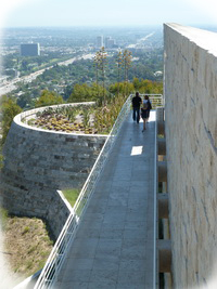 View of LA from Getty Museum